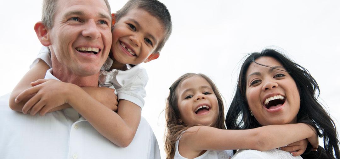 Facade happy family